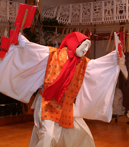 The dance of Uzume
